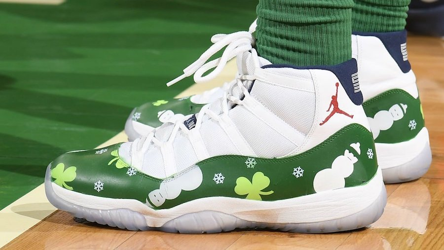 Christmas Air Jordan 11 Custom