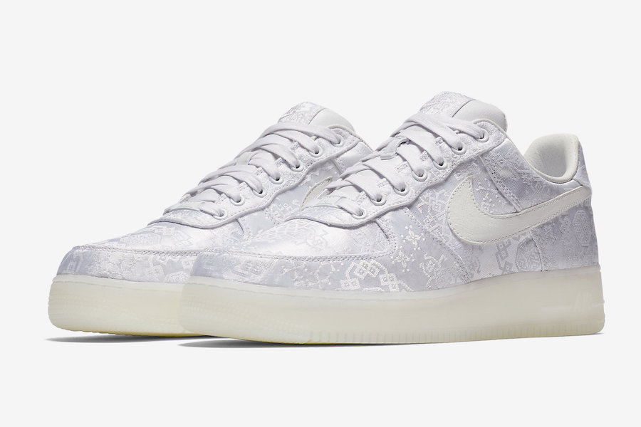 CLOT Nike Air Force 1 Premium AO9286-100