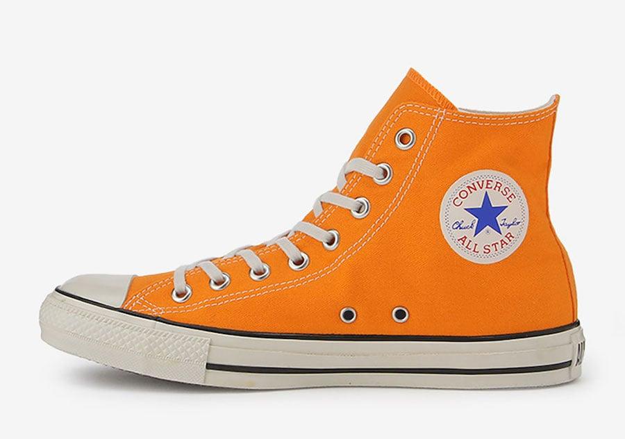 Converse Japan All Star Localize Hi Orange