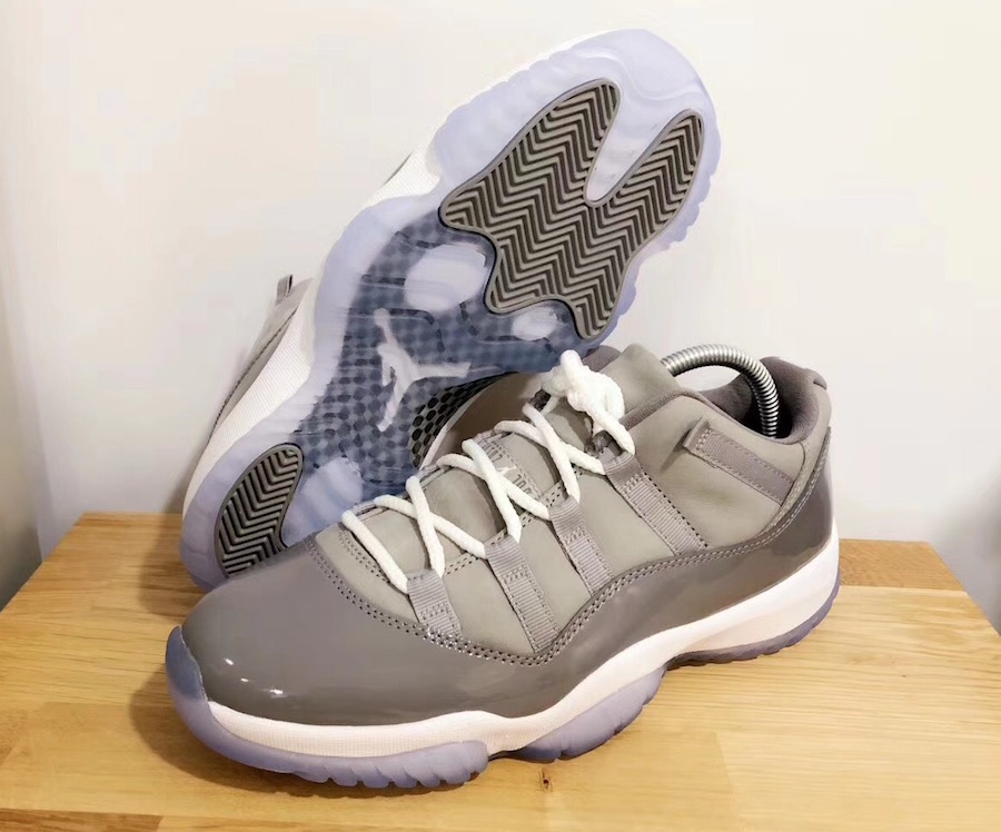 Cool Grey Jordan 11 Low 2018