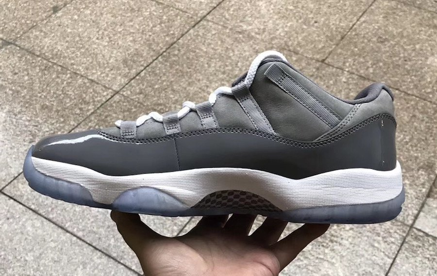 Cool Grey Jordan 11 Low Retro