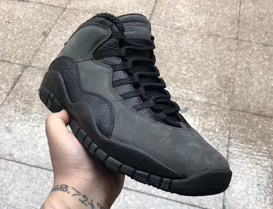 Dark Shadow Air Jordan 10 310805-002
