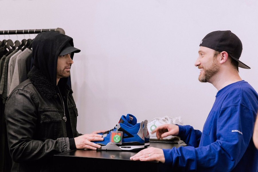 Eminem Air Jordan 4 Encore StockX