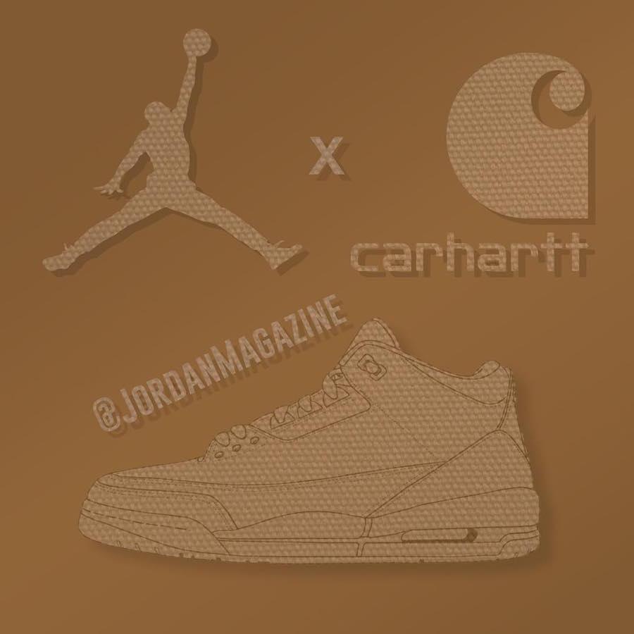Eminem Carhartt Air Jordan 3 2018