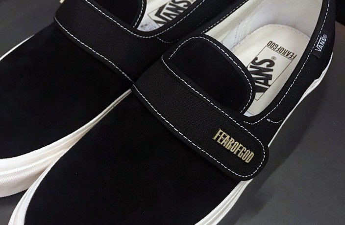 Fear of God Vans Slip-On Style 147 Black