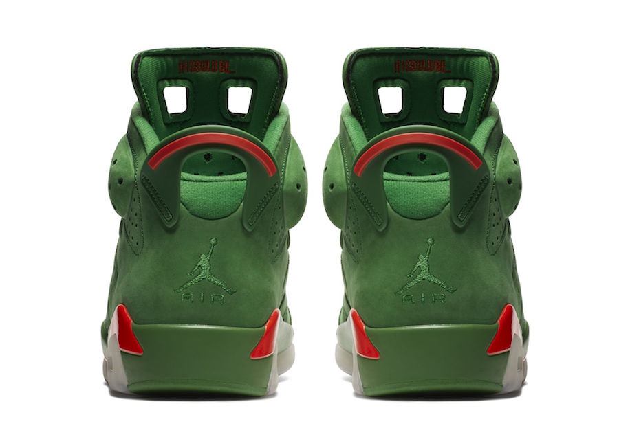 Green Gatorade Air Jordan 6