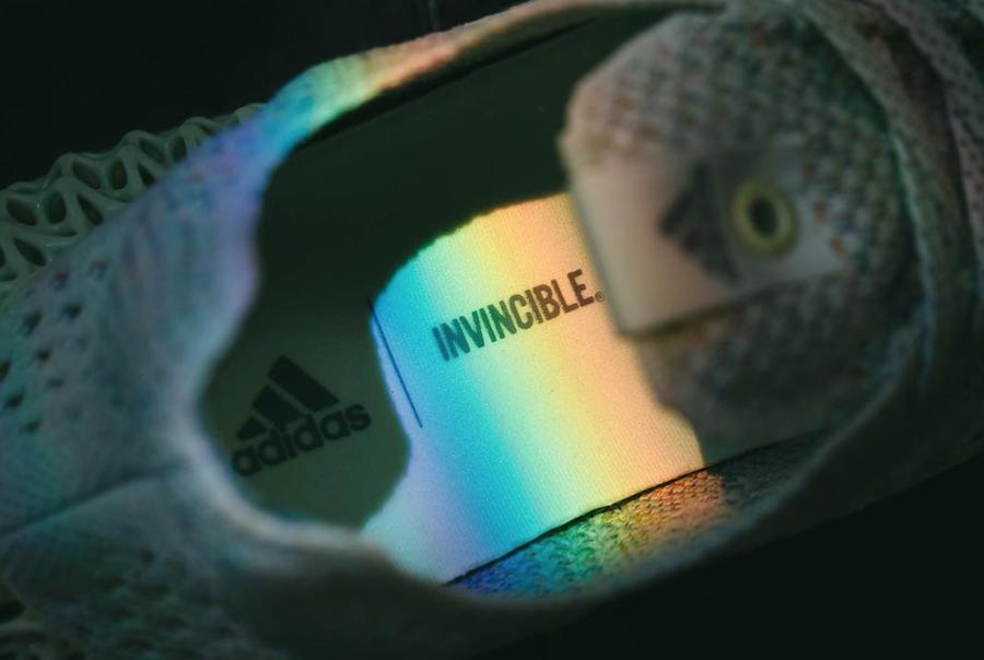 Invincible adidas Consortium 4D Release Date