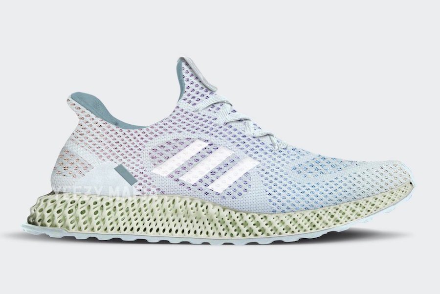 Invincible adidas FutureCraft 4D Blue Tint Release Date