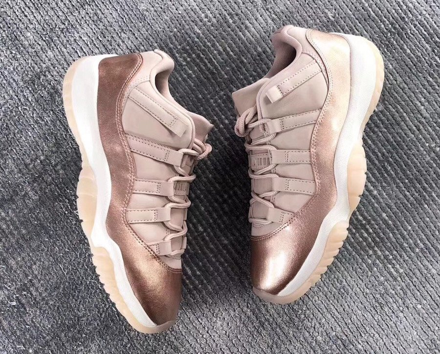 Jordan 11 Low Retro Rose Gold