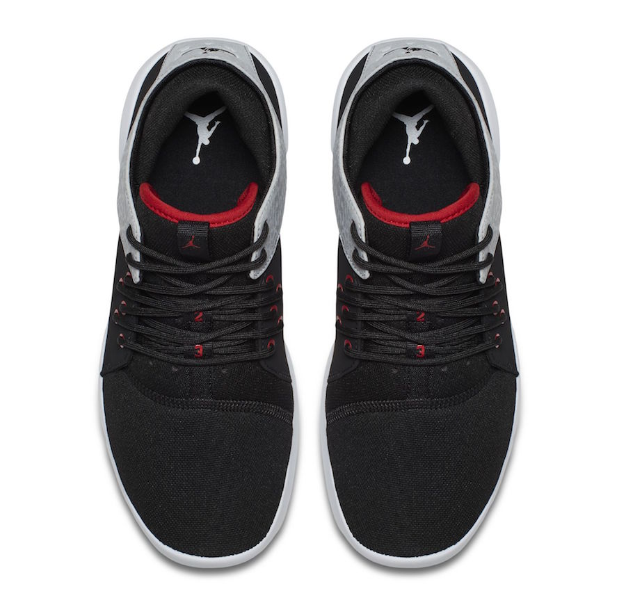 Jordan First Class Black Red