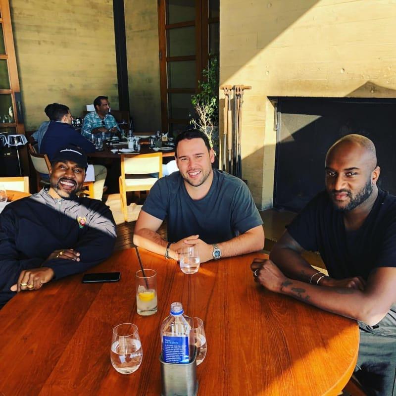 Kanye West Scooter Braun Virgil Abloh Group
