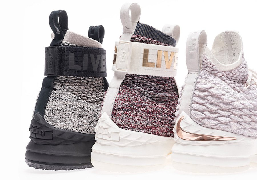 KITH Nike LeBron 15 Three Kings