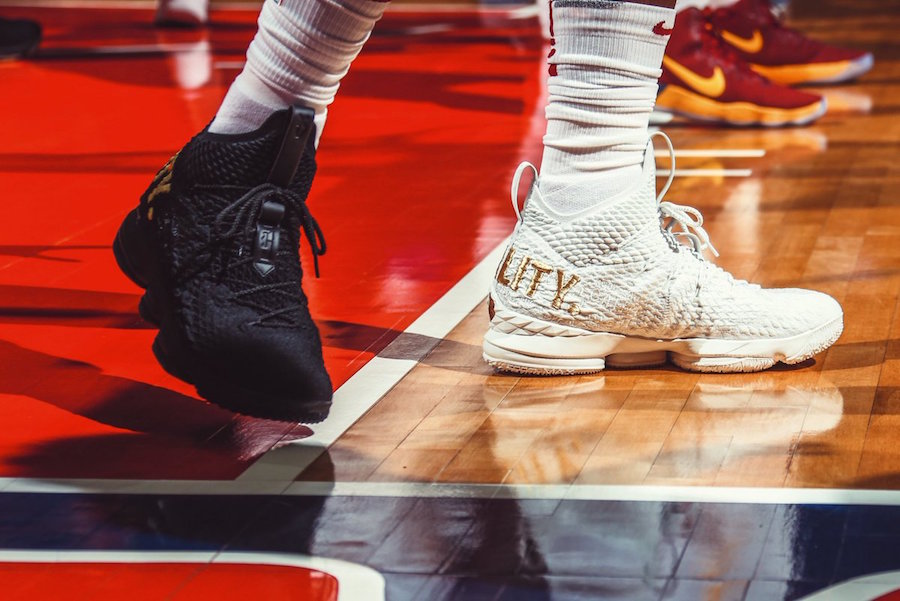 LeBron James Nike LeBron 15 Equality Pack