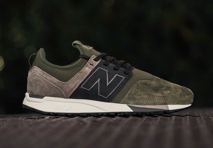 new balance 247 luxe black olive