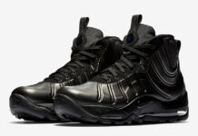 Nike Air Bakin Posite Triple Black 618056-001