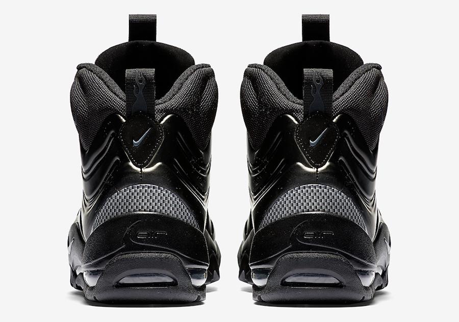 Nike Air Bakin Posite Triple Black 618056-001