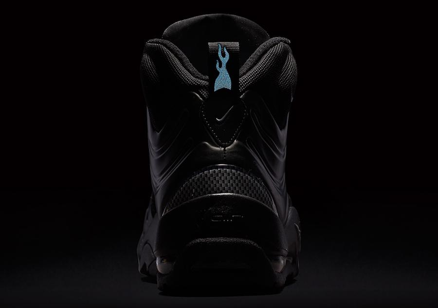 3e599a14babd4 Nike Air Bakin Posite Triple Black 618056-001