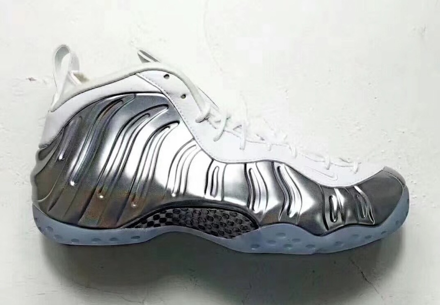 Nike Air Foamposite One Chrome Release Date