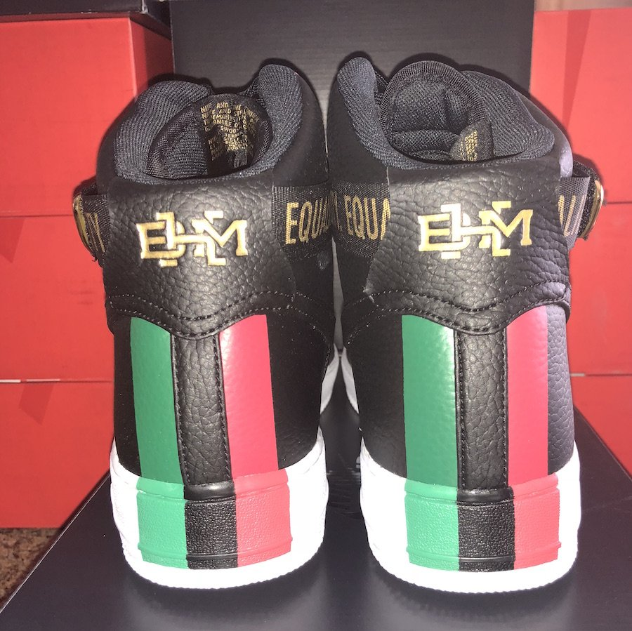 Nike Air Force 1 High BHM Black History Month 836227-002