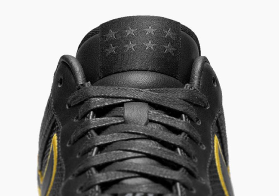 Nike Air Force 1 Low Black Mamba Jersey Retirement