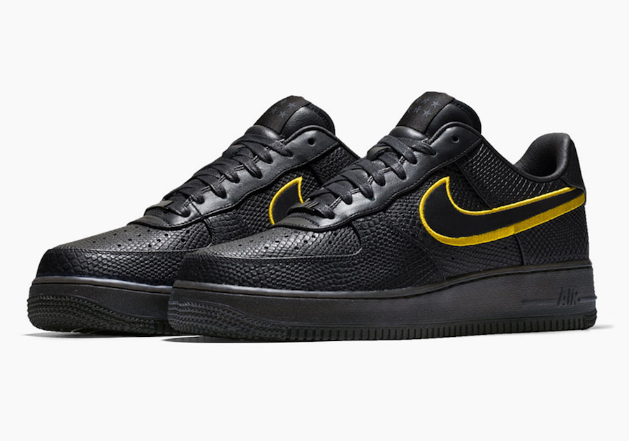 Nike Air Force 1 Low Black Mamba Jersey Retirement
