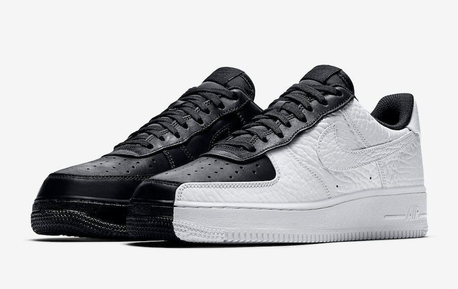 timeless design 2167e 80d12 Nike Air Force 1 Low Split Black White 905345-004