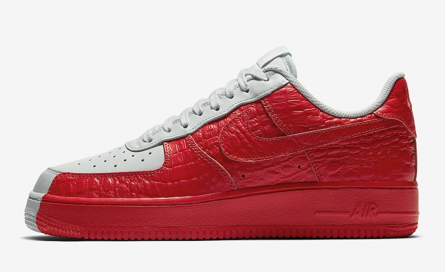 grand choix de ae20c 70c31 Nike Air Force 1 Low Split White Red 905345-005 | SneakerFiles