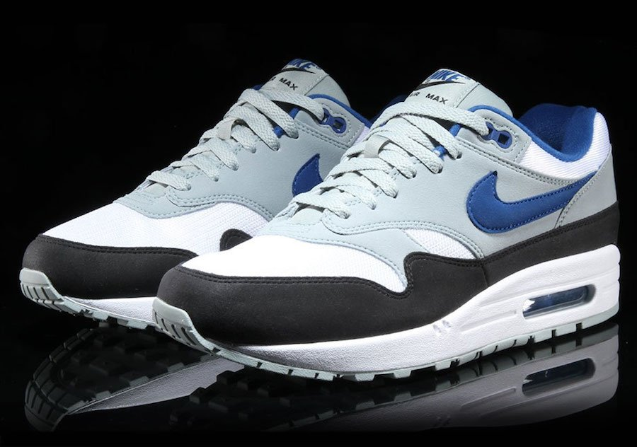 Nike Air Max 1 Gym Blue Ah8145 102 Sneakerfiles