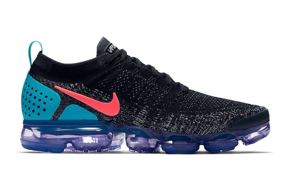Nike Air VaporMax 2.0 Black Orange Teal Purple