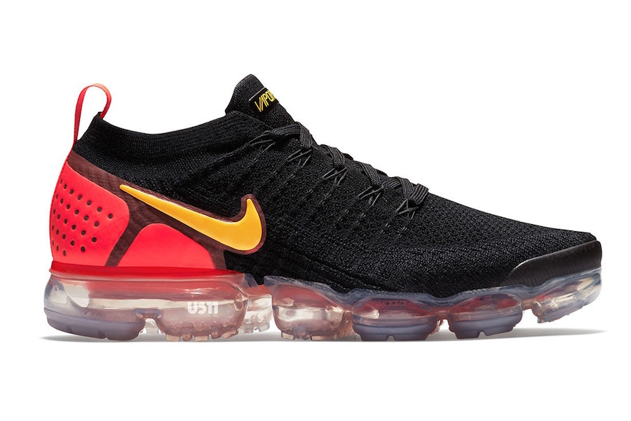 Nike Air VaporMax 2.0 Black Yellow Orange
