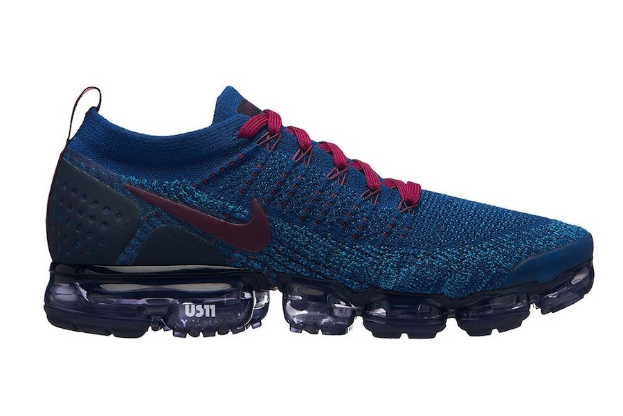 Nike Air VaporMax 2.0 Blue Burgundy
