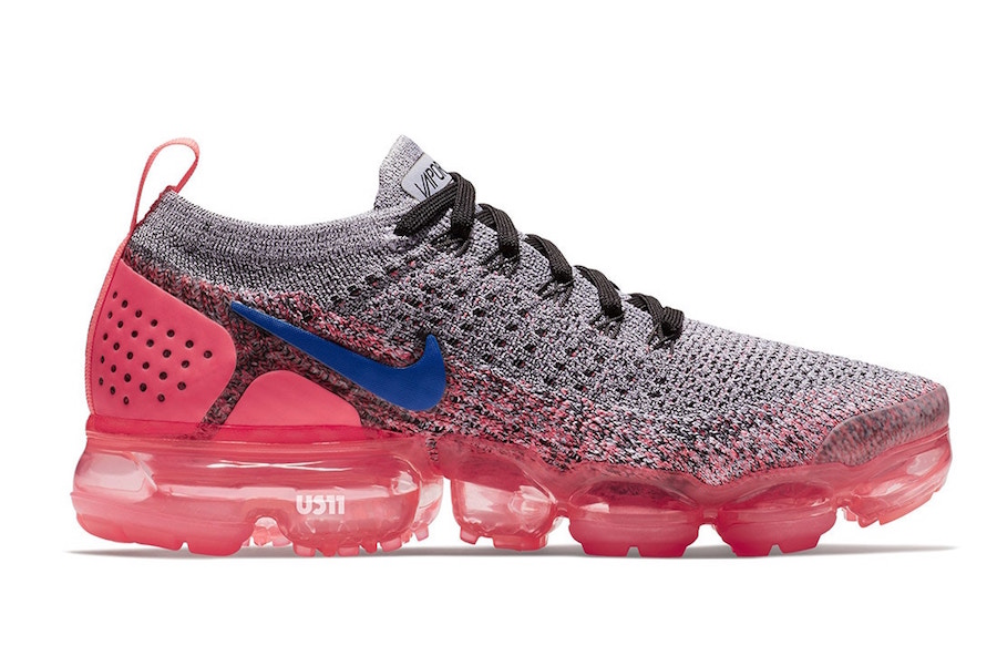 Nike Air VaporMax 2.0 Grey Blue Pink Punch