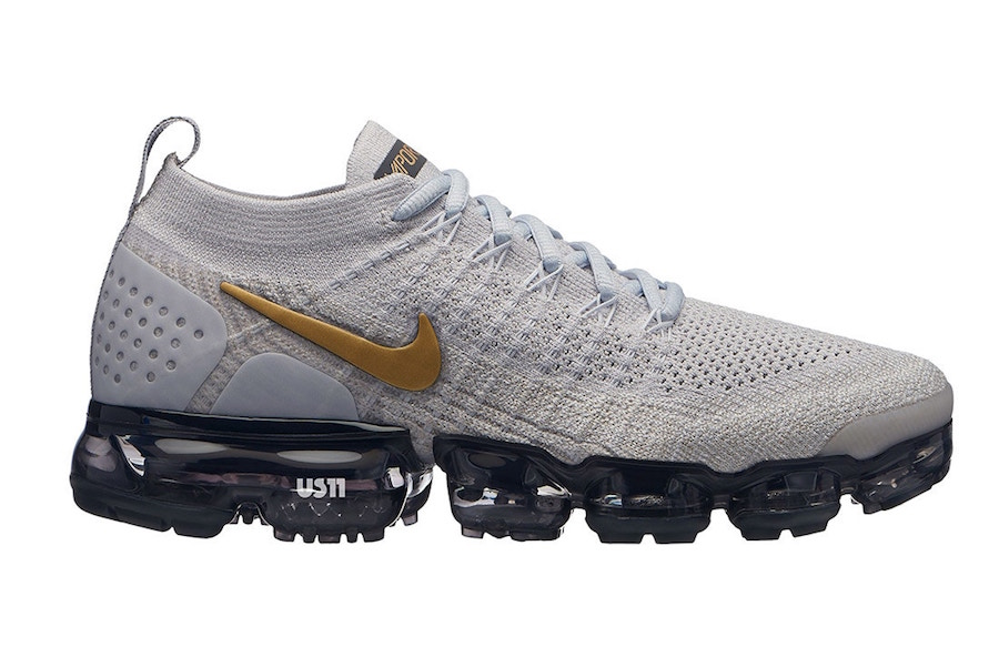 Nike Air VaporMax 2.0 Grey Gold Black