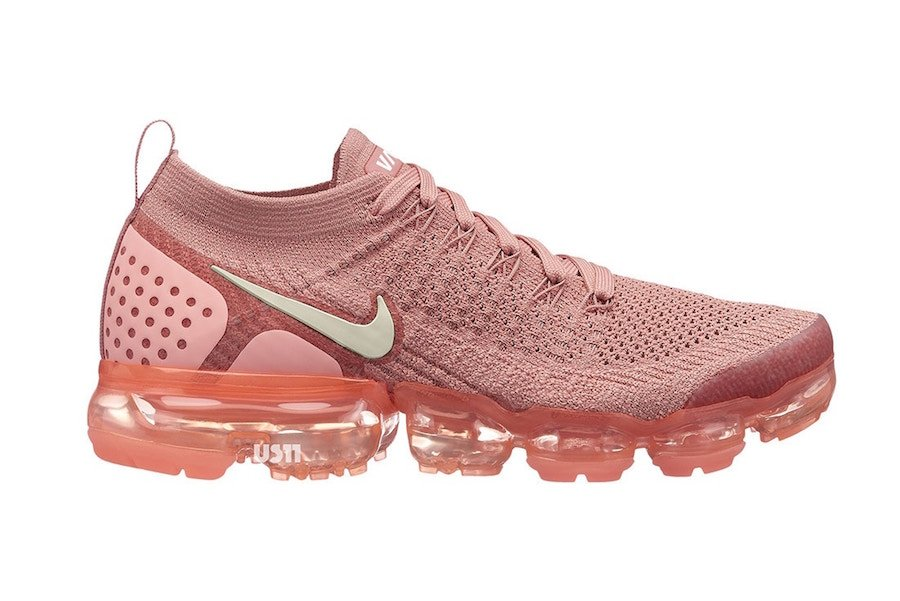 Nike Air VaporMax 2.0 Peach Rose White