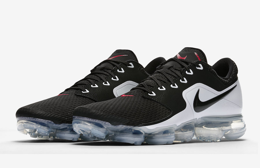 Nike Air VaporMax CS Black White Red AH9046-003 1f6a6a02a718