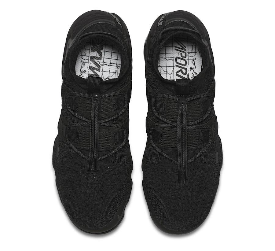 Nike Air VaporMax Flyknit Utility Triple Black