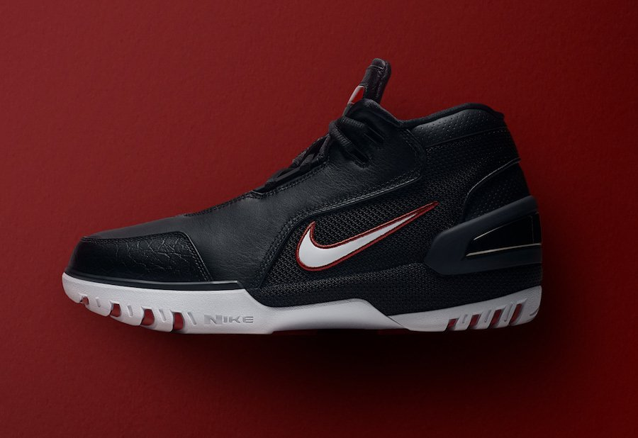 Nike Air Zoom Generation Black Varsity Crimson White