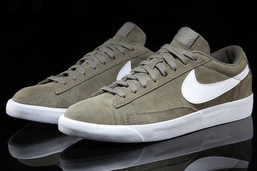 Nike Blazer Low Olive 371760-209