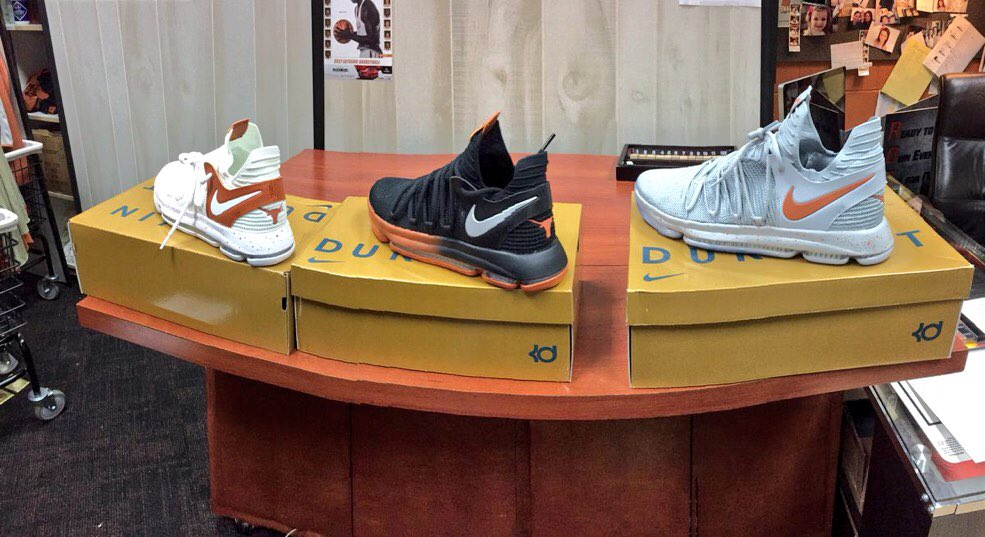 Nike KD 10 Texas Longhorns Pack