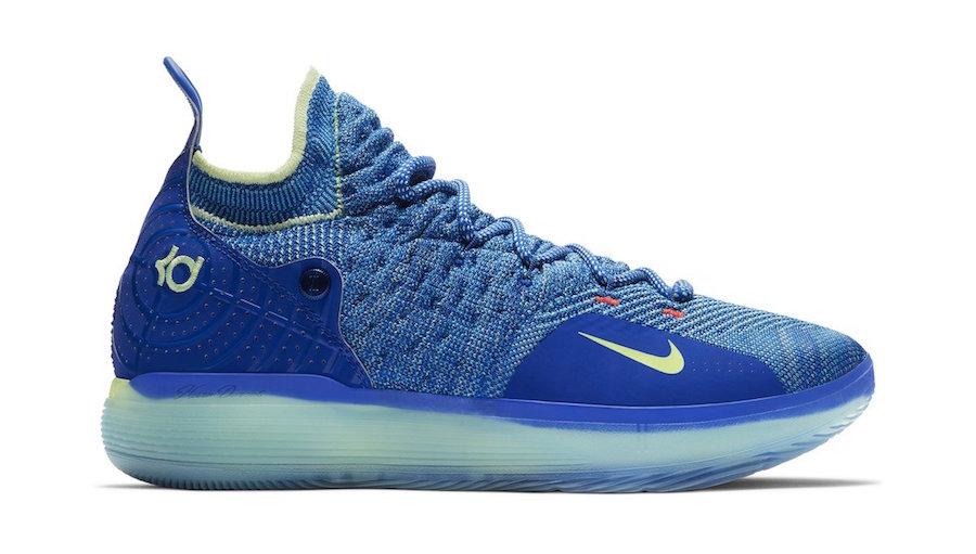 Nike KD 11 Warriors Blue