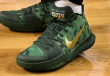 Nike Kyrie 3 Green Camo Best Buddies