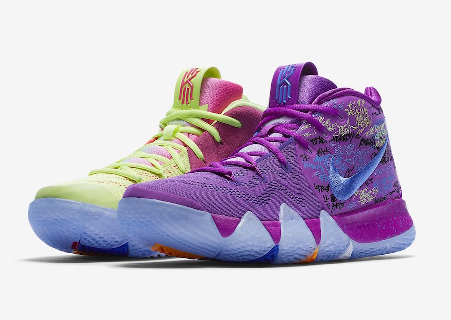 e7e642c556f2 Nike Kyrie 4 Colorways Release Dates