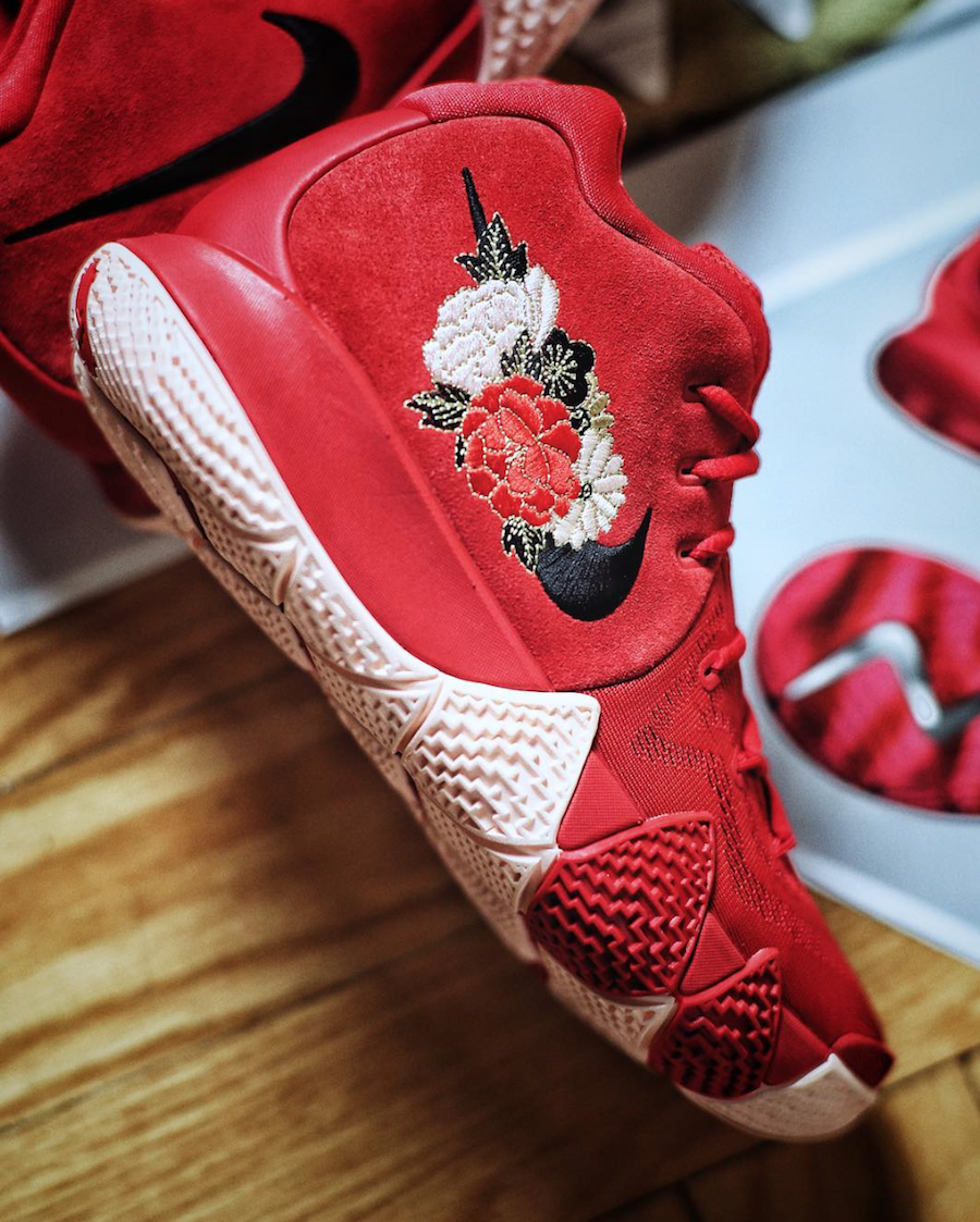 Nike Kyrie 4 Fireworks Chinese New Year
