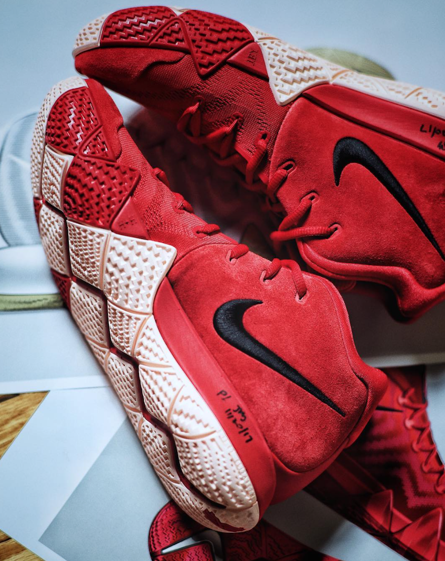 quality design e09df c1681 Nike Kyrie 4 CNY Chinese New Year Release Details | SneakerFiles