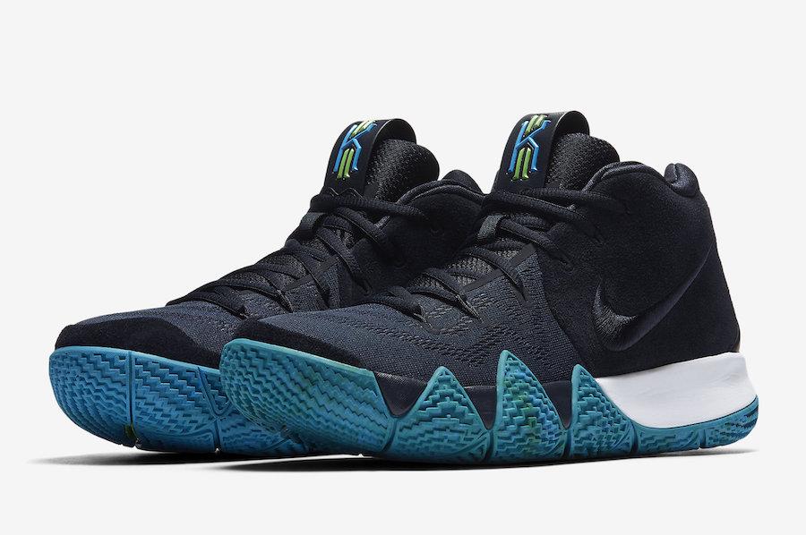 Nike Kyrie 4 Obsidian 943806-401 Release Date