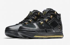 Nike LeBron 3 Black Metallic Gold AO2434-001 Release Date
