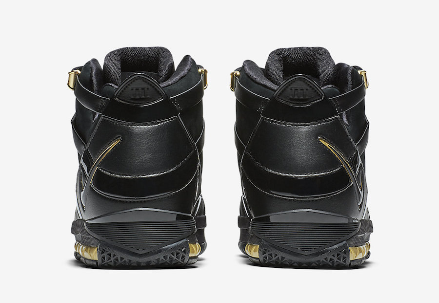 1b257a5cd80a Nike LeBron 3 Black Metallic Gold AO2434-001 Release Date