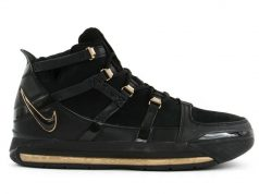 Nike LeBron 3 Retro Black Metallic Gold AO2434-001