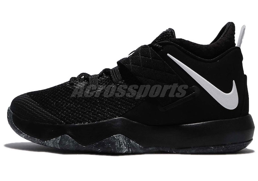 promo code 4db81 6a0f6 Nike LeBron Ambassador 10 Black White AH7580-001