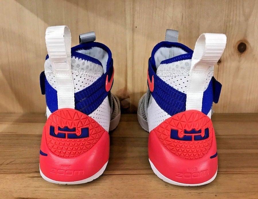 Nike LeBron Soldier 11 White Racer Blue Infrared 897646-101Nike LeBron Soldier 11 White Racer Blue Infrared 897646-101